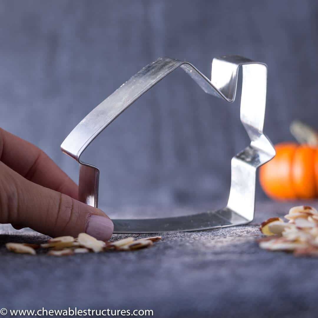 house-shaped cookie cutter for Halloween Potluck ideas