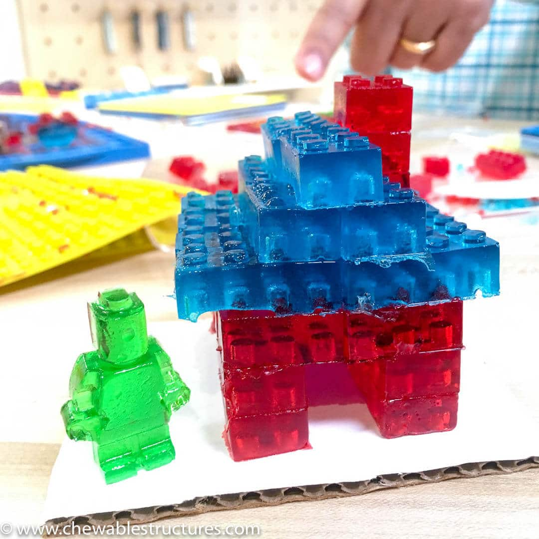 Gummy Lego House and Gummy Person